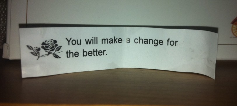 fortune cookie and change - My Turn - EnriqueCerna.com
